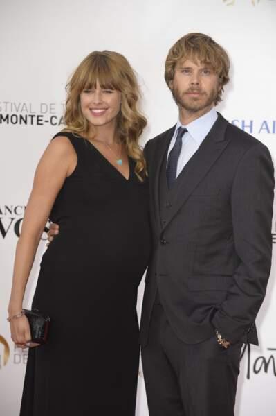 Eric Christian Olsen (NCIS : Los Angeles) avec sa femme.