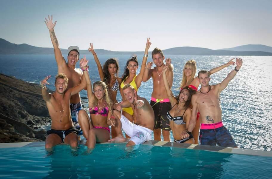 Toute la team des Ch'tis débarquent à Mykonos au complet