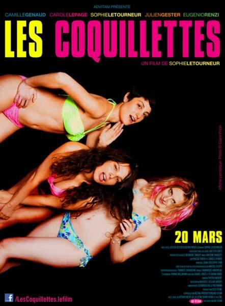 L'affiche parodiée par Les Coquillettes...