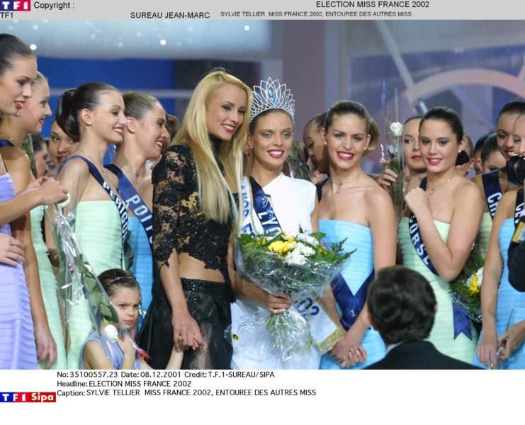 Miss France 2002 : Sylvie Tellier (Miss Lyon)
