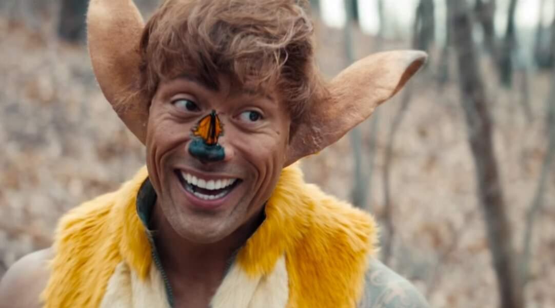 Dwayne Johnson a tenté d'imaginer ce que serait le film en live action Bambi pour la télé américaine