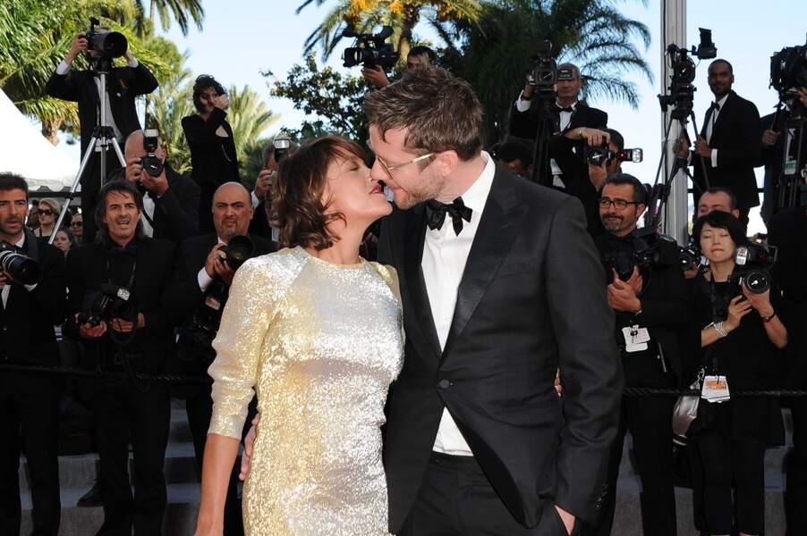 Emma de Caunes et Jamie Hewlett, amoureux au Festival de Cannes 2015