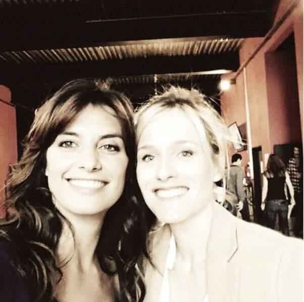 On commence avec deux beautés, Laetitia Milot (Mélanie) et Lara Menini (Eugénie).