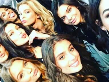Visites touristiques, fitness, selfies entre copines... Les top-models Victoria's Secret s'éclatent à Paris!