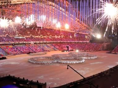 La cérémonie de clôture des Jeux Olympiques de Sotchi 2014