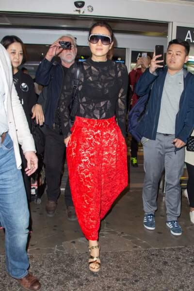 L'actrice Gong Li