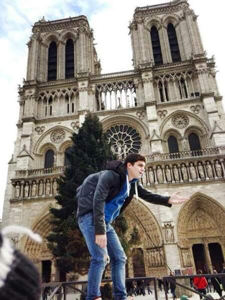 Et hop, un saut vers Notre Dame de Paris