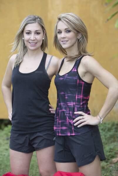 Cyrielle et Constance en short