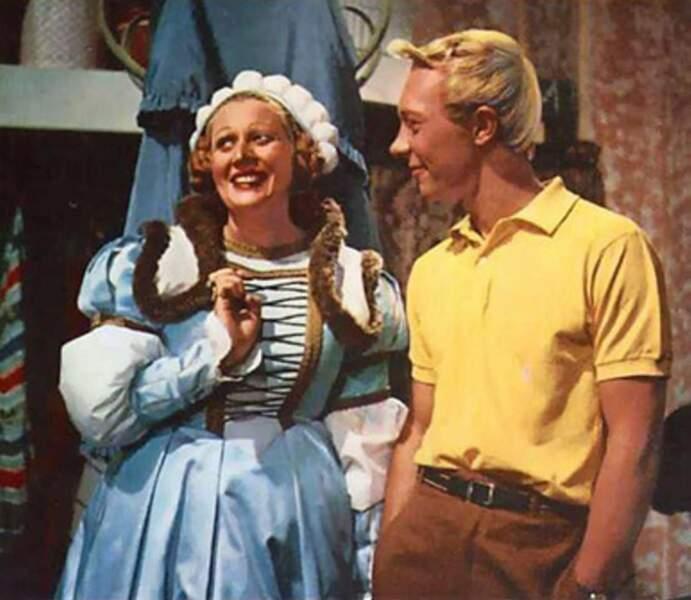 1964 : Jenny Orléans prêtait ses traits à la Castafiore