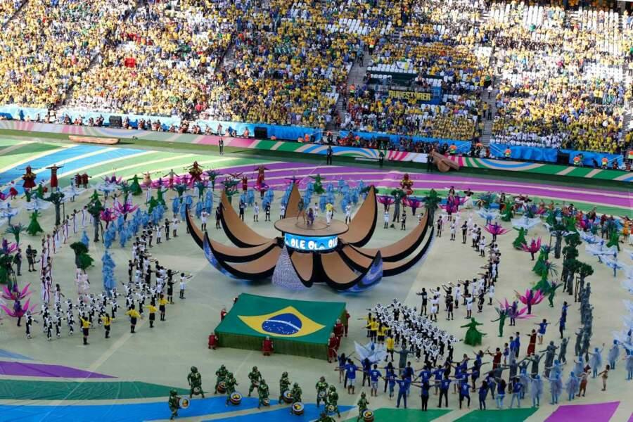 ... Un bourgeon qui éclôt, et marque le lancement du Mondial... Poétique