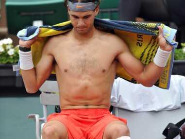 Roland-Garros : Nadal tombe le t-shirt, joies et visages crispés des joueurs
