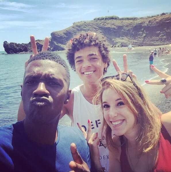 Léa François, David Baiot et Bryan Trésor eux, se sont rendu au Cap d'Agde pour un Festival