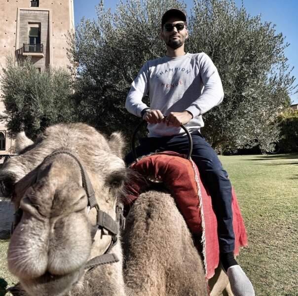 C'est pas tout ça mais on a une course à dos de chameau à gagner contre Tony Saint Laurent.