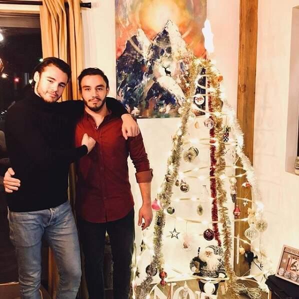 Le danseur Anthony Colette et son frère Nathan