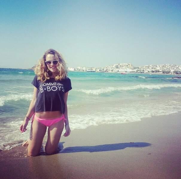 Retour à la plage avec Joy Esther