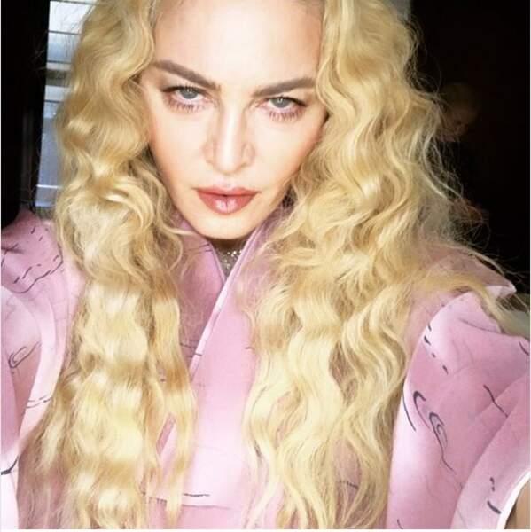 D'autres comme Madonna ont une plus petite mine