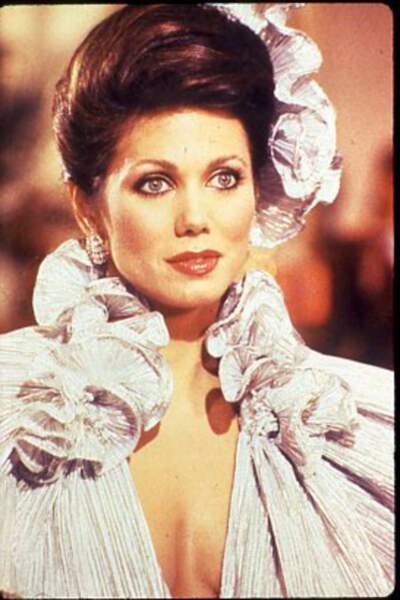 Mandy, interprétée par Deborah Shelton, était l'une des nombreuses maîtresses de J.R.