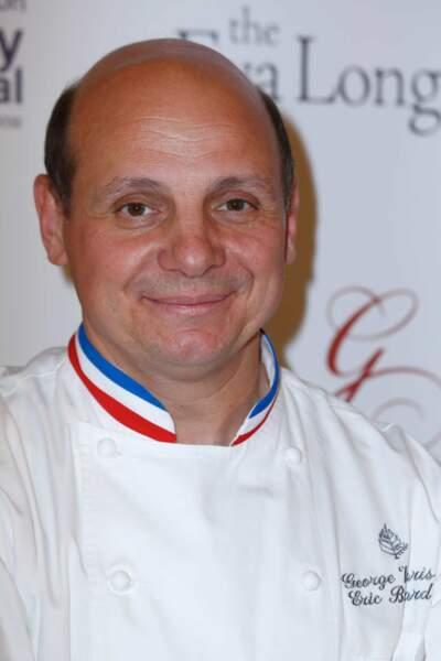 Eric Briffard, chef des cuisines du George V (où avait lieu l'évènement)