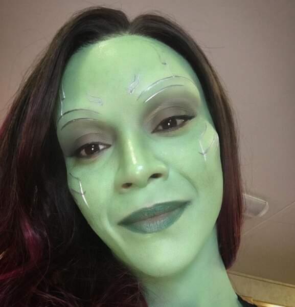Zoe Saldana, notre Gamora préférée.