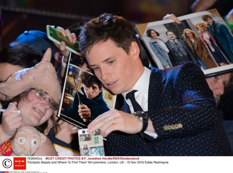 Les fans de l'acteur ont pu se consoler avec un selfie ou un autographe