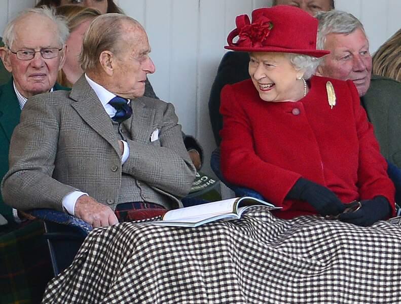 Elisabeth et Philip partagent le même humour caustique. So British !