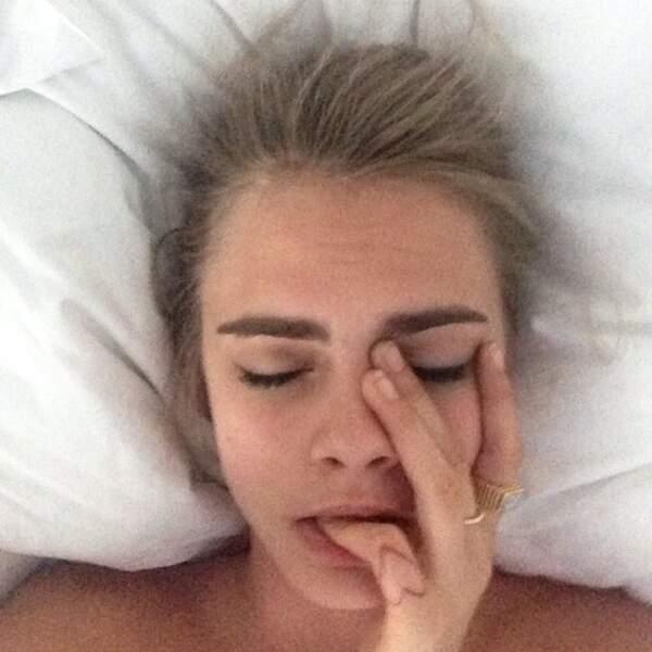 Dur le réveil Cara ?