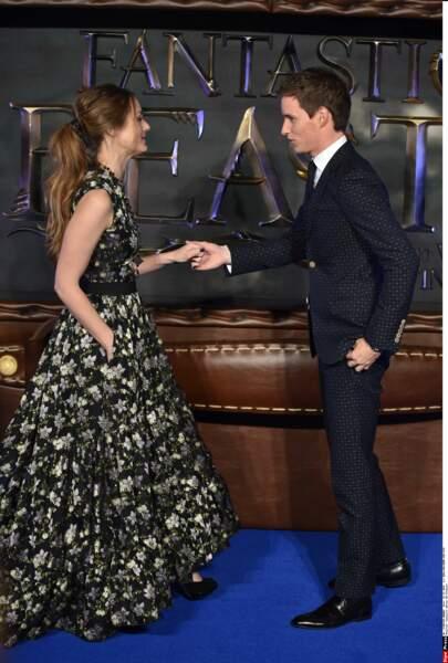 L'acteur était venu accompagné de sa femme, Hannah Bagshawe