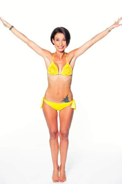 La fille de Julie Lescaut est prête pour le grand saut ! (mais elle devrait mieux étaler son autobronzant...)