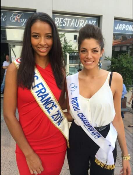 Miss Poitou-Charentes 2014, Mathilde Hubert