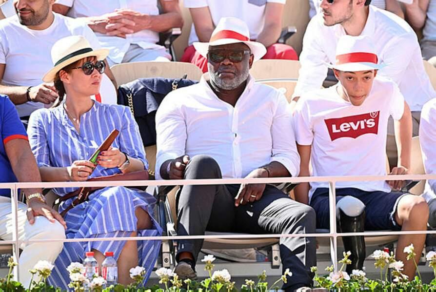 Basile Boli semble très concentré sur les matchs…