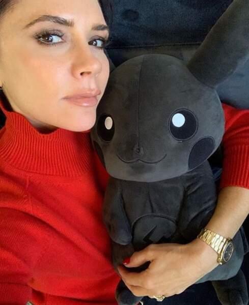 Et Victoria Beckham s'est fait un nouvel ami tout moelleux. On veut le même !