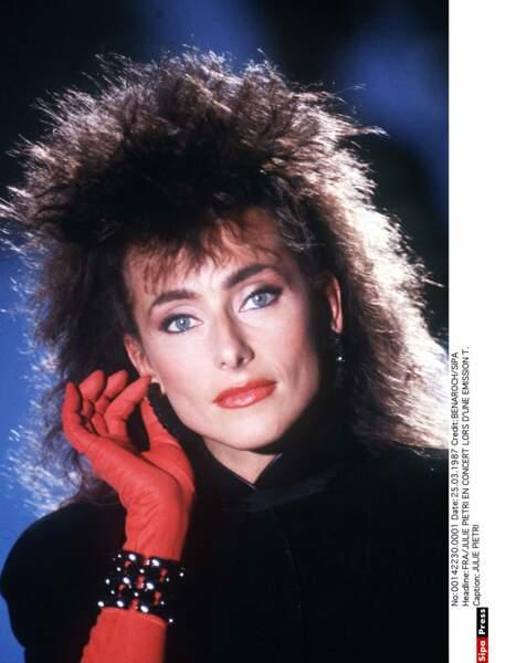 Julie Pietri, symbole du look des années 80 !