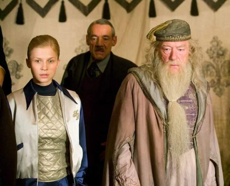 """Clémence Poésy dans """"Harry Potter et la coupe de feu"""""""
