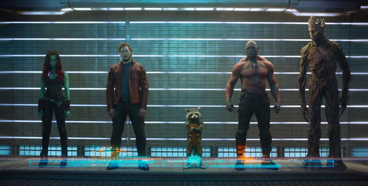 Amateurs de super-héros réjouissez-vous ! Les gardiens de la galaxie débarquent le 13 août au cinéma