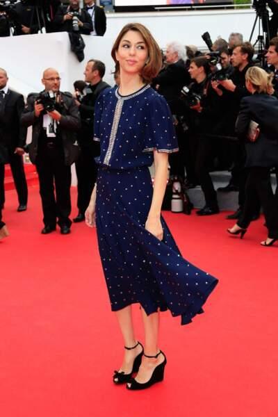 Sofia Coppola, tout sourire dans la tempête cannoise