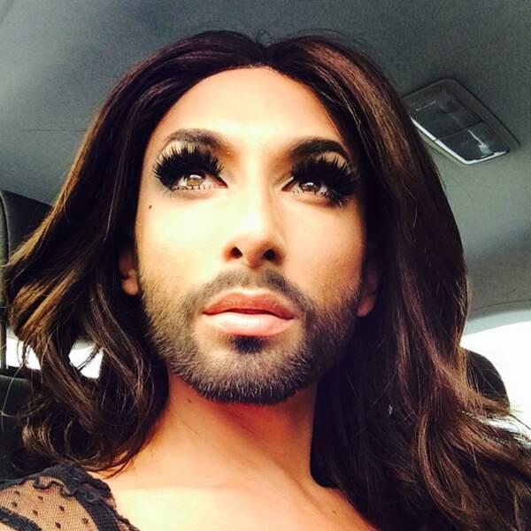 Et Conchita Wurst se laisse pousser la barbe
