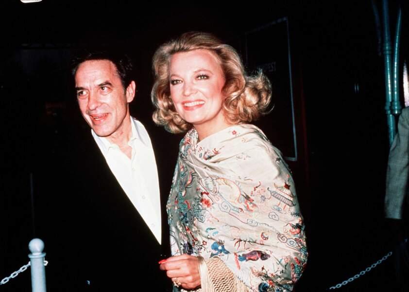 Gena Rowlands, épouse et muse du réalisateur John Cassavetes.