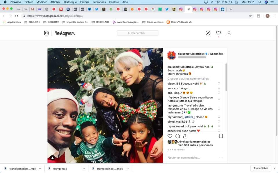 La famille de Blaise Matuidi irradie de bonheur