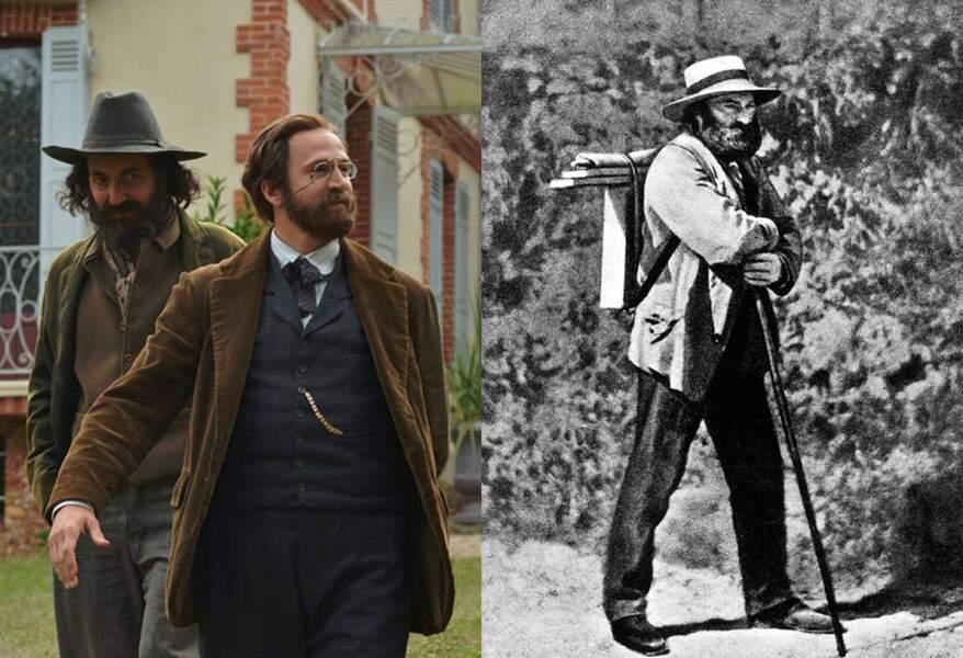 Paul Cézanne dans Cézanne et moi, aux côtés de Guillaume Canet, qui joue Emile Zola