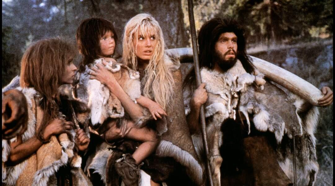 Daryl Hannah femme de Cro-Magnon du Clan de la caverne des ours (1986)