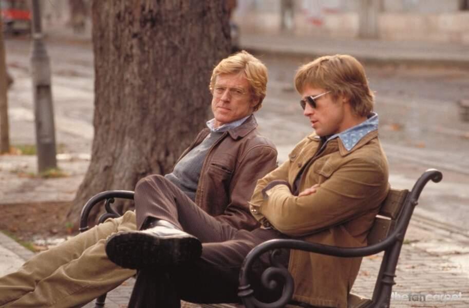 Brad Pitt et Robert Redford se donnent la réplique dans Spy Game (2001)