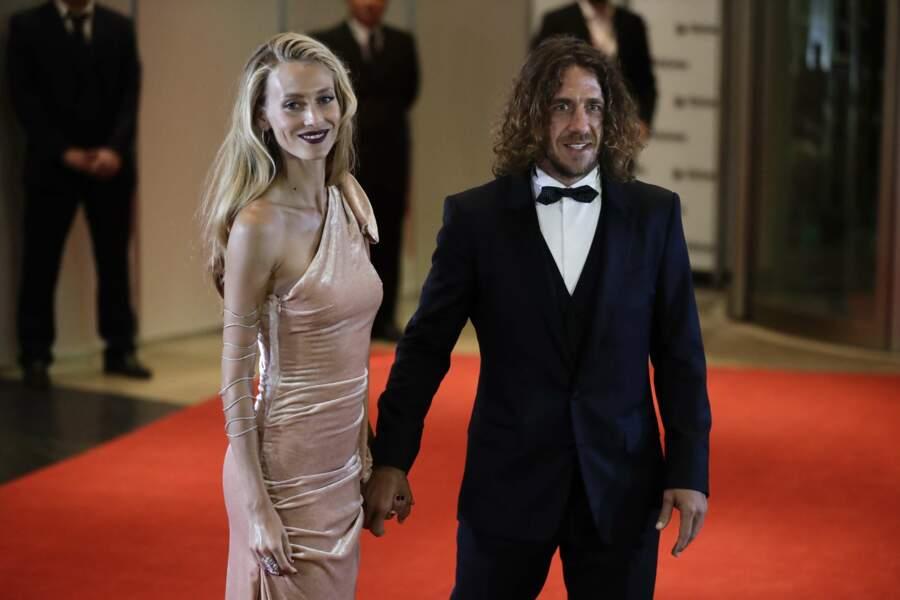 Carles Puyol et sa petite amie Vanessa Lorenzo