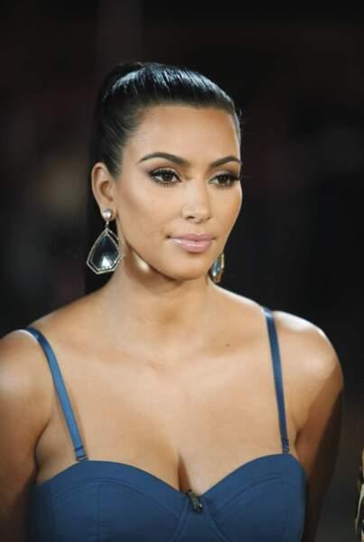 Voici Kim, la deuxième fille de Kris et Robert, la plus médiatique...