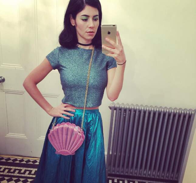 Marina and the Diamonds dans le remake d'Ariel la Petite Sirène.