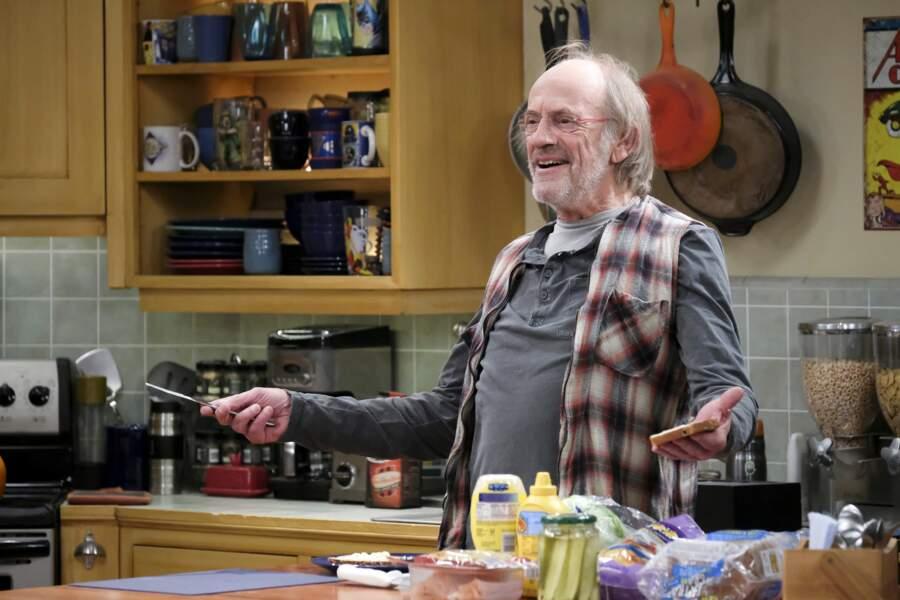 Christopher Lloyd, Doc dans la trilogie Retour vers le futur, a joué un SDF dans la sitcom