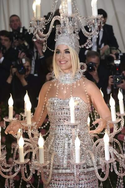 Katy Perry allumée.