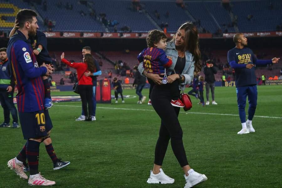 Entre Antonellla Roccuzzo et Lionel Messi, c'est une passion qui dure