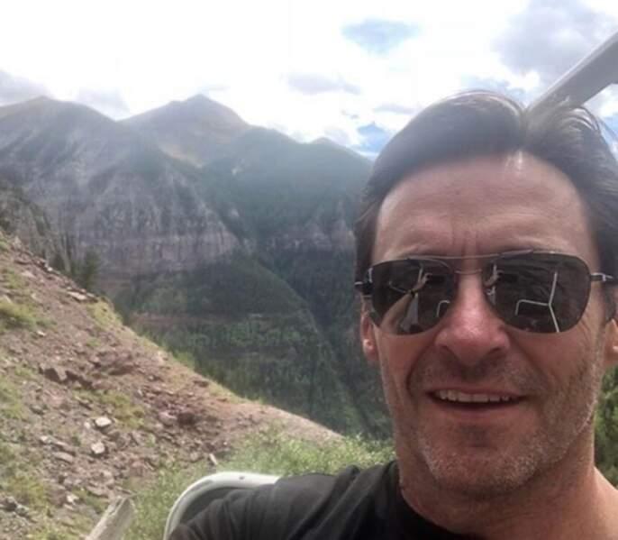 Un selfie de Hugh Jackman