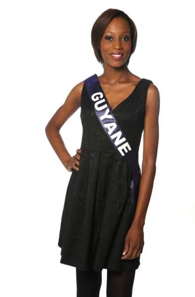 Henriette Groneveltd, Miss Guyane 2013