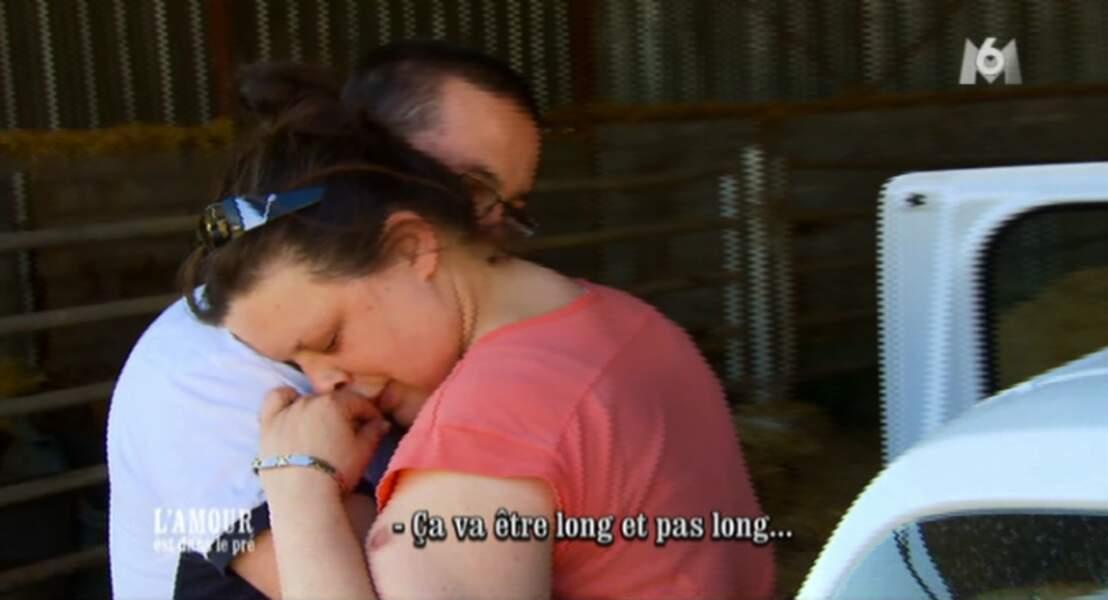 Et Christophe termine avec une phrase qui n'a aucun sens !!! L'émotion fait dire n'importe quoi.